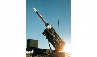 MIM-104-Patriot-Rakete beim Start