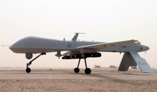 MQ-1B Predator der 361st Expeditionary Reconnaissance Squadron